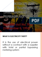Electricity Theft