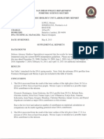 Exhibit 9 - Supplemental Forensic DNA Report #8 - By Shawn Montpetit (May 8_ 2015)