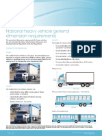 National heavy vehicle general dimension requirements