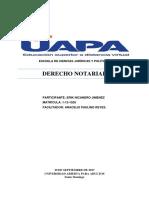 Derecho Notarial II- Diferencias Entre Acto Privado y Autentico