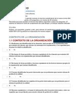 Control Cumplimiento ISO 9001