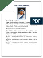 María Teresa de Calcuta