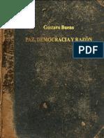 Paz Democracia Razon