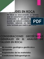 Taludes en Rocas -Geotecnia[1]