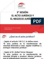 3 Acto Juridico y Negocio Jurdicio