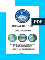 Ritual de 1822 Lojas Fundadoras