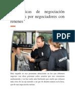 6-Técnicas Negociación Utilizadas Por Negociadores Con Rehenes