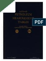 Astm Tables Petroleum