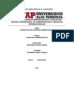 Difiniciones de Auditoria administrativa