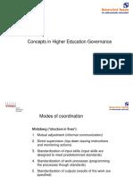 HEEM Higher Education Governance Concepts