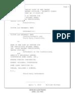 Full Deposition of William Hultman - Secretary and Treasurer of MERSCORP