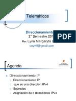 DIRECIONAMIENTO IPV4