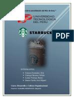 Analisis Organizacional Starbucks Peru