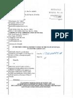 ACLU Legal Memorandum - Opposition to Sanctuary Cities Ballot Measure