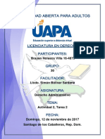 Tarea 2 Derecho Administrativo 12-11-2017