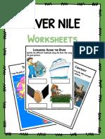 Sample River Nile Worksheets