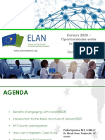 Workshop Programa Horizon 2020 - Tecnalia & Conicyt