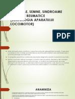 Curs 1- Semne Simptome