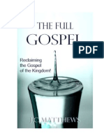 The Full Gospel - Saved but Stuck -Sample Chapter