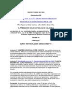 Decreto 2360 de 1993