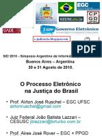 O Processo Eletrônico na Justiça do Brasil