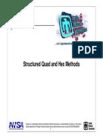 Structured Quad and Hex Methods