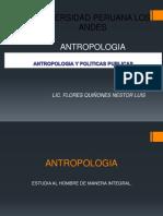 Antropologia y Politicas Publicas