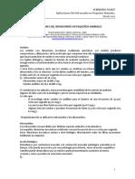 Infrasonoterapia Aplicacione en Peqs Animales Graciela Sterin