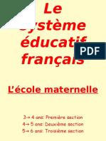 21 Le Système Éducatif Français