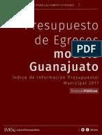 Presupuesto Modelo Guanajuato Iipm2017 Final 3abr17