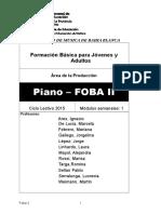 Piano Foba II