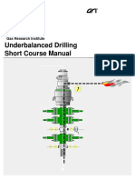Underbalanced Drilling Short Course Manual - GRI