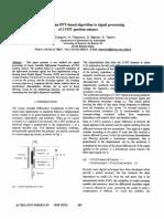 Application FFT-LVDT