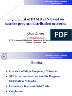 2Deployment of DTMB SFN Based on Satellite Program Distribution Networks-Zhangchao