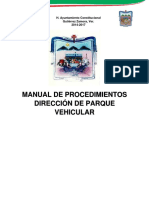 Manual Parque Vehicular