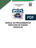 Manual Parque Vehicular