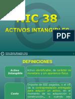 NIC38 Activos Intangibles y Efectos Tributarios