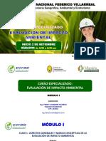 Clase 1 Evaluacion de Impacto Ambiental