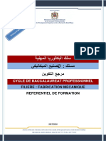 REF Bac Pro Fabrication Mécanique