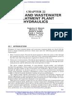 Hydraulic Design Handbook Ch22