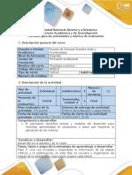 Guía de Actividades y Rúbrica de Evaluación - Fase 3 - Caracterización Del Caso 2