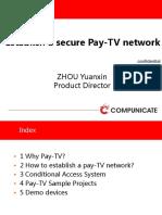 6Establish a Secure Pay-TV Network-zhouyuanxin
