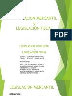 Legislación Mercantil y Legislación Fiscal