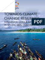 Towards Climate Change Resilience - Minimising Loss & Damage in Pacific SIDS Communities
