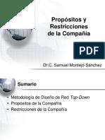 01 - Propósitos y Restricciones de La Compañía