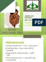 Referat Ileus Andri