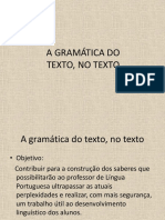 A Gramática Do Texto