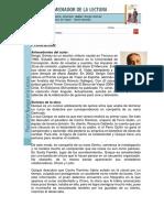 Quique Hache, Detective  Ficha Del Mediador