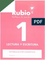 Rubio. Estimulación Cognitiva. 1. Lectura y escritura.pdf