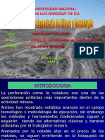 Tema 2 perforacion voladura Subterranea I.ppt
